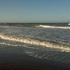Photo taken at Playa de San Clemente del Tuyú by Lucas A. on 9/23/2012