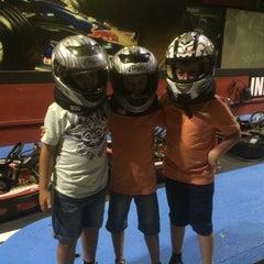 Photo taken at Indoor Karting Barcelona by Francis U. on 5/24/2015