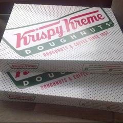 Photo taken at Krispy Kreme Doughnuts by Vince M. on 3/2/2013