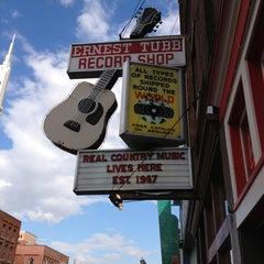 Photo taken at Ernest Tubb Record Shop by Allison M. on 2/15/2013