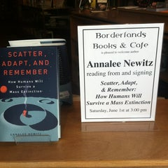 Photo taken at Borderlands Books by Ashley M. on 6/1/2013