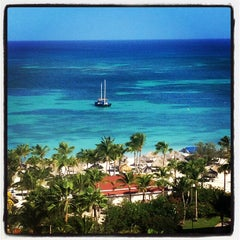 Photo taken at Marriott's Aruba Surf Club by Scott F. on 5/11/2013