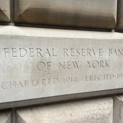 Photo taken at Federal Reserve Bank of New York by Vitalii V. on 7/23/2014