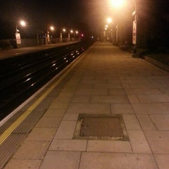 Photo taken at Boston Manor London Underground Station by Luis E. M. on 1/7/2013