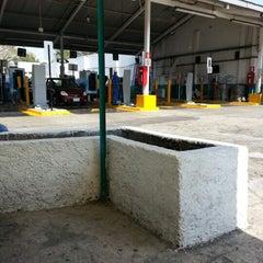 Photo taken at Verificentro Huipulco by Luis E. M. on 12/14/2012