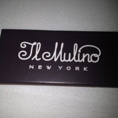 Photo taken at Il Mulino New York by Christine L. on 3/9/2013