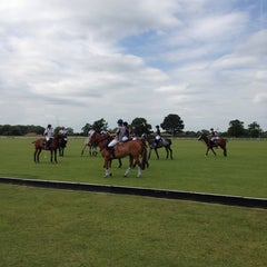 Photo taken at Royal Berkshire Polo Club by Pedrita Peblestone on 6/20/2014