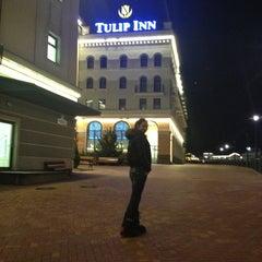 Photo taken at Tulip Inn Rosa Khutor by Milena K. on 2/23/2013