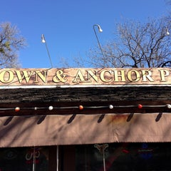 Photo taken at Crown & Anchor Pub by aaron h. on 1/18/2013