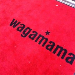 Photo taken at Wagamama by Cajsa on 10/5/2012