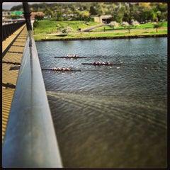 Photo taken at John Philip Sousa Bridge by James D. on 4/16/2013