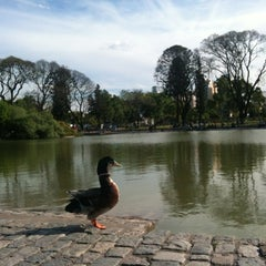 Photo taken at Parque Centenario by Raphael D. on 10/25/2012