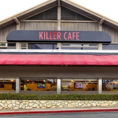 Photo taken at Killer Cafe by Sally L. on 3/24/2013