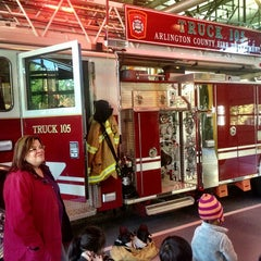 Photo taken at Arlington County Fire Station 5 by Brittany G. on 10/25/2013