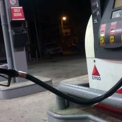 Photo taken at Citgo by Miss J. on 11/3/2012