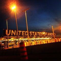 Photo taken at U.S./Canada border - Champlain-St. Bernard de Lacolle Crossing by Jake L. on 8/3/2013