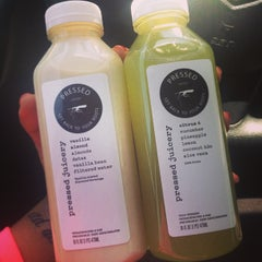 Photo taken at Pressed Juicery by Stephanie C. on 5/27/2013