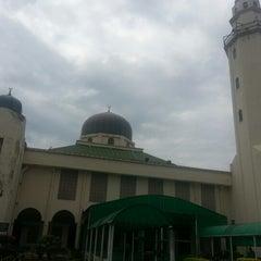 Photo taken at Masjid Al-Hasanah by Rizal R. on 2/8/2013