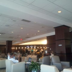Photo taken at United Club - Terminal E by K M. on 9/18/2012