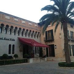 Photo taken at Castillo Hotel Son Vida by Oliver M. on 7/20/2013