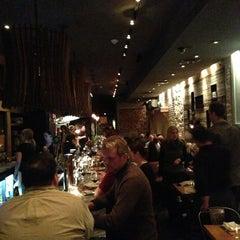 Photo taken at Barbuzzo Mediterranean Kitchen & Bar by Kirk L. on 1/18/2013