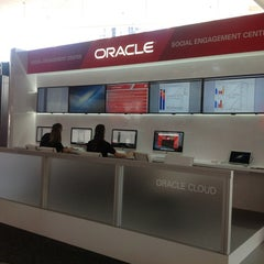 Photo taken at Oracle Social Engagment Center by Peter R. on 9/30/2012
