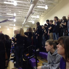Photo taken at Guerin Catholic High School by Bill B. on 1/5/2013