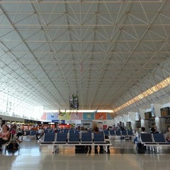 Photo taken at Aeropuerto de Gran Canaria (LPA) by Kim T. on 5/8/2013