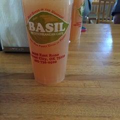 Photo taken at Basil Mediterranian Cafe by James M. on 4/4/2014