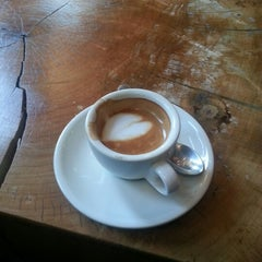 Photo taken at The Café Grind by Amy N. on 1/19/2013