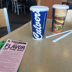 Photo taken at Culver's by Julie S. on 3/30/2014