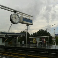 Photo taken at Metrostation Spaklerweg by Sabine on 10/4/2012