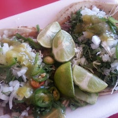 Photo taken at Taqueria El Chino by Salsa P. on 3/18/2014