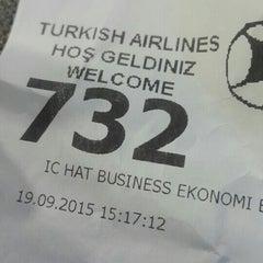 Photo taken at THY Satış Ofisi by Nese K. on 9/19/2015