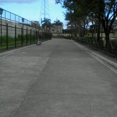 Photo taken at Pandacan linear park by Krystal M. on 1/29/2013