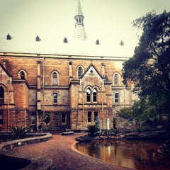 Photo taken at The University of Adelaide by Jake J. on 5/17/2013