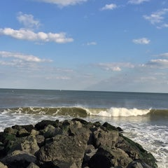 Photo taken at Karge Street Beach by David K. on 11/13/2015