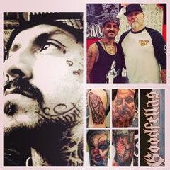 Photo taken at The Original Goodfellas Tattoo by Adam H. on 11/25/2013