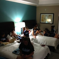 Photo taken at Hilton Garden Inn by Mark F. on 7/20/2014