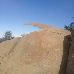 Photo taken at Potato Chip Rock by Rami A. on 2/5/2013