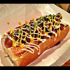 Photo taken at Dat Dog by Michael F. on 11/20/2012