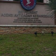 Photo taken at Ibu Pejabat Agensi Antidadah Kebangsaan by XavIrman Jr. on 11/6/2013