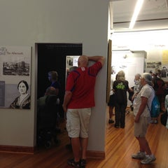 Photo taken at Watkins Museum of History by Carol E. on 8/17/2013