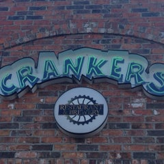 Photo taken at Cranker's Restaurant & Brewery - Grand Rapids by Clayton E. on 3/11/2015
