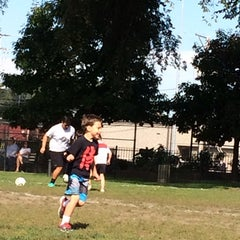 Photo taken at Chase Park Track by Katylou M. on 9/28/2014