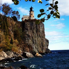 Photo taken at Split Rock Lighthouse by Rachel W. on 9/23/2012