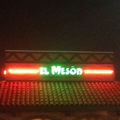 Photo taken at El Meson Restaurante Mexicano by 🍃Jermaine P. on 11/20/2011