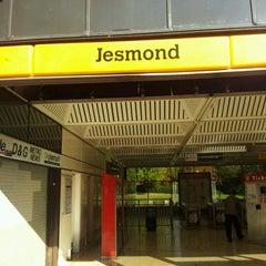 Photo taken at Jesmond Metro Station by Guo Jun T. on 10/16/2011