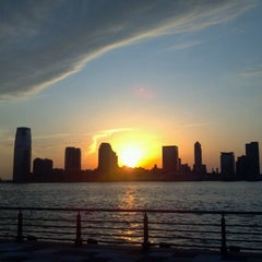 Photo taken at Pier 25 — Hudson River Park by Tony B. on 2/27/2012