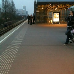 Photo taken at Metrostation Amstelveenseweg by John S. on 3/16/2011